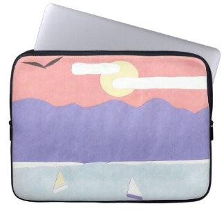 Luva do computador com design da montanha sleeve para notebook