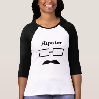 Luva do hipster t-shirt