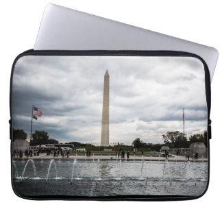 Luva do memorial de Washington Capas De Computadores Notebooks