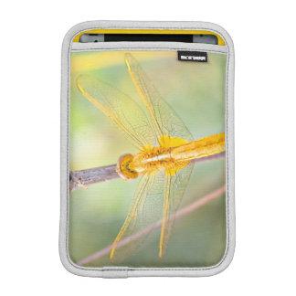 Luva iPad Mini Amarelo e libélula do ouro