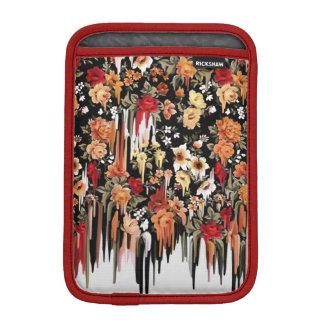 Luva iPad Mini Teste padrão floral de derretimento de queda livre