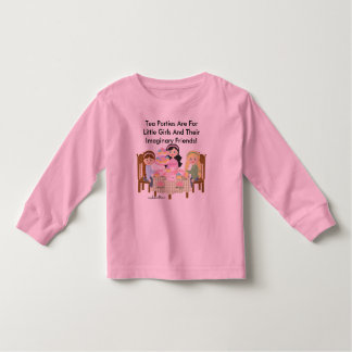 Luva longa da criança tshirt