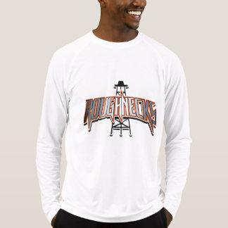 Luva longa dos homens ativos dos Roughnecks Tshirts