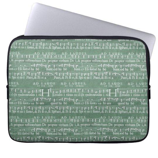 "Luva medieval 13"" do neopreno do manuscrito da capa para laptop"