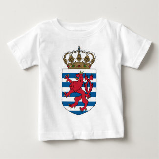 luxembourg simboliza camiseta para bebê
