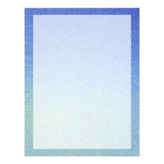 Luz azul da obscuridade do olhar da areia do flyer 21.59 x 27.94cm