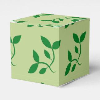 Luz - caixas decorativas verdes do favor da