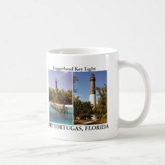 Luz chave da boba, caneca da história de Florida