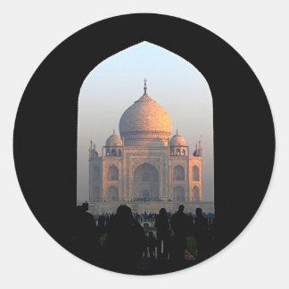 Luz de Taj Mahal da foto da arquitetura de India Adesivo