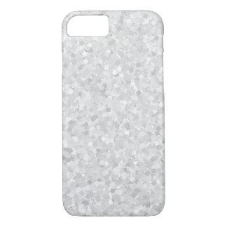 Luz - design cinzento dos confetes capa iPhone 8/7