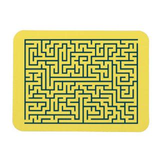 Luz do n° 17 do labirinto do labirinto - azul íman