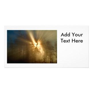 Luz dos deuses cartões com fotos