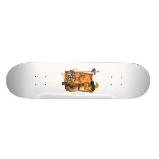 Luz em meus pés skateboard