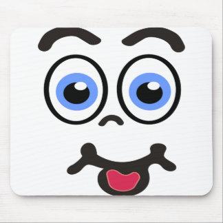 luz engraçada da cara #1 mouse pad