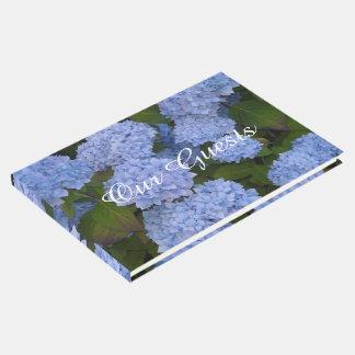 Luz - Hydrangeas azuis Livro De Visitas