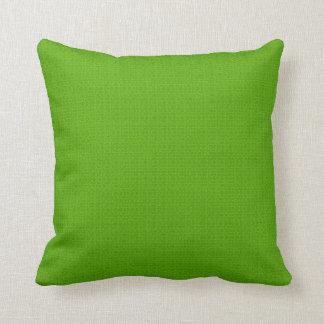 Luz - lance verde do desenhista ou travesseiros almofada