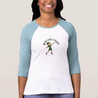 Luz - tiro verde psto t-shirt