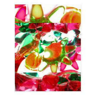 Luzes coloridas cartão postal