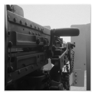 M-2 .50 Cal Pôsteres