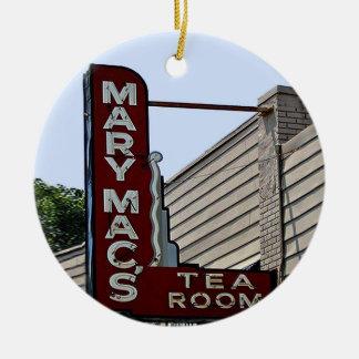 Mac de Mary, Atlanta, enfeites de natal do marco