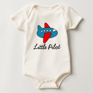 Macacão Jumpsuit piloto pequeno do bebê com desenhos