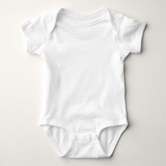 Macacão Body Jersey para Bebê, Branco