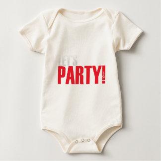 Macacãozinho Deixe-nos Party!