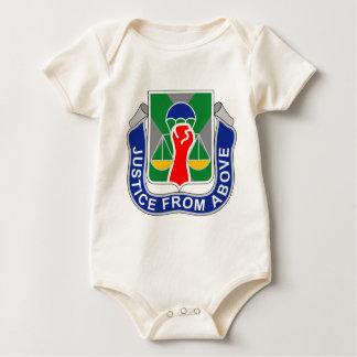Macacãozinho Para Bebê 10o Batalhão da polícia militar - justiça de Abov