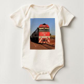 Macacãozinho Para Bebê A locomotiva do trem de Ghan, Darwin
