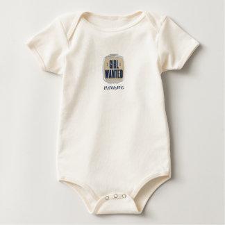 Macacãozinho Para Bebê HAMbWG - pressão orgânica T do bebê - menina quis