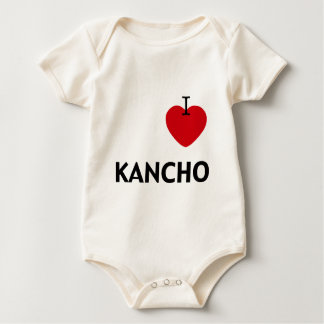 Macacãozinho Para Bebê I_Heart_Kancho
