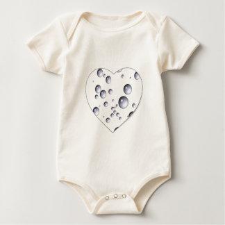 Macacãozinho Para Bebê ~ Loving das bolhas de Dora do ~ do coração de