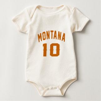 Macacãozinho Para Bebê Montana 10 designs do aniversário