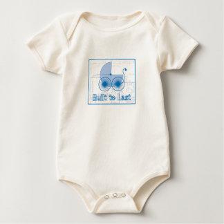 Macacãozinho Para Bebê Sob o modelo da construção