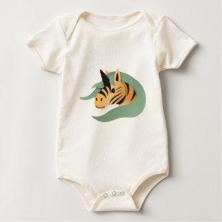Macacãozinho Para Bebê Unicórnio do tigre bonito!