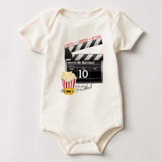 Macacãozinho Para Bebês 10o Partido do filme de Hollywood do aniversário