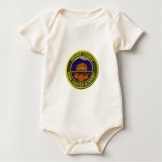 Macacãozinho Para Bebês Academia da guarda florestal do Condado de Orange