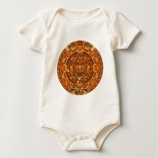 Macacãozinho Para Bebês 'Calendário maia Stone