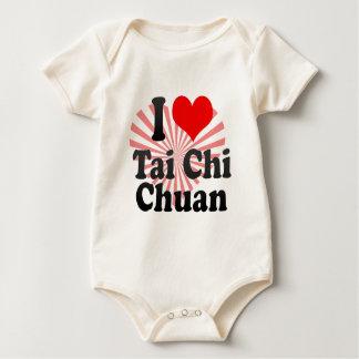 Macacãozinho Para Bebês Eu amo o qui Chuan da TAI