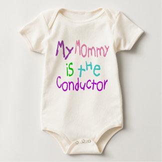 Macacãozinho Para Bebês Minha mamãe é o maestro
