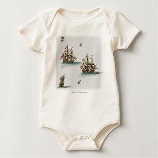 Macacãozinho Para Bebês Navios Estrangeiros