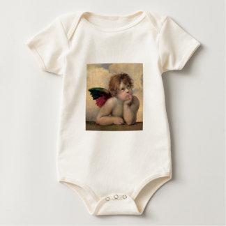 Macacãozinho Querubim de Sistine Madonna por Raphael