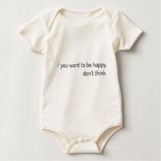 Macacãozinho se você quer estar feliz, não pense