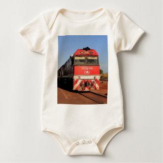 Macacãozinhos Para Bebê A locomotiva do trem de Ghan, Darwin