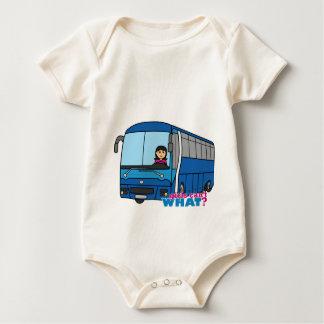 Macacãozinhos Para Bebê Meio do condutor de autocarro