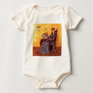 Macacãozinhos Para Bebê Retrato da senhorita Dora Wheele