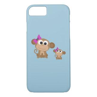 Macaco do Mama e do bebê Capa iPhone 7