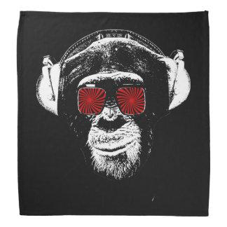 Macaco engraçado pano para cabeça