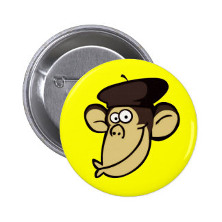 Macaco parisiense bóton redondo 5.08cm