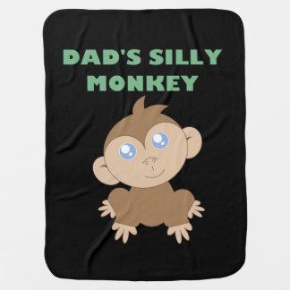 Macaco parvo - cobertura do bebê manta para bebe